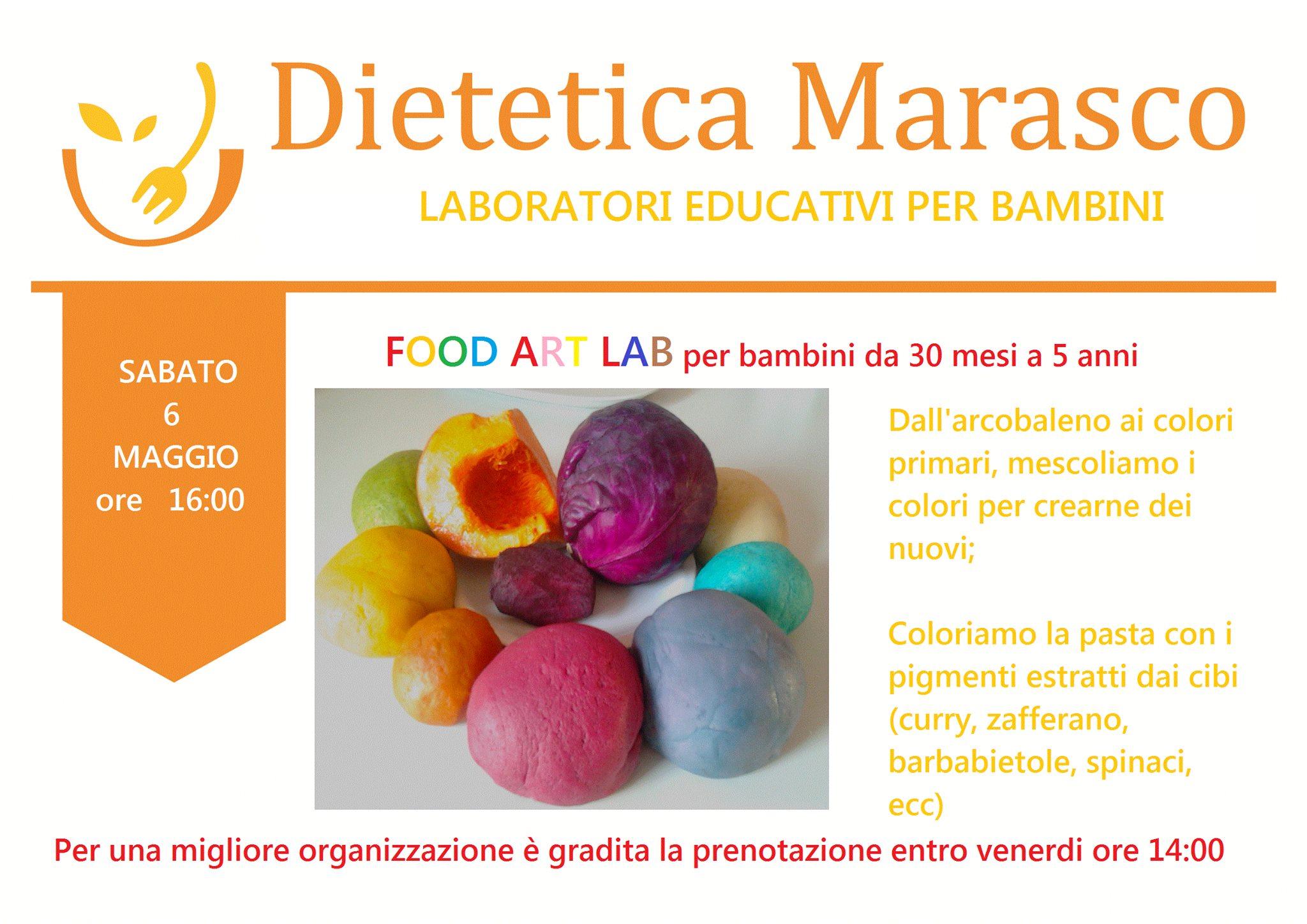 abbastanza Educazione Alimentare – Laboratorio Educativo per Bambini VL42